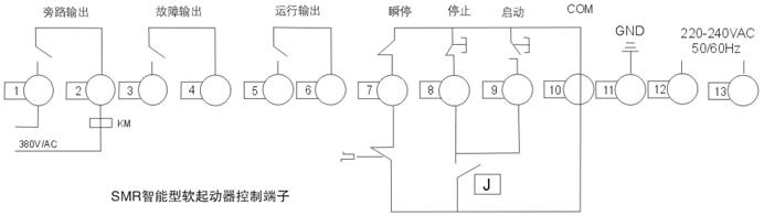 l11,l12,l13            外接旁路接触器专用端子